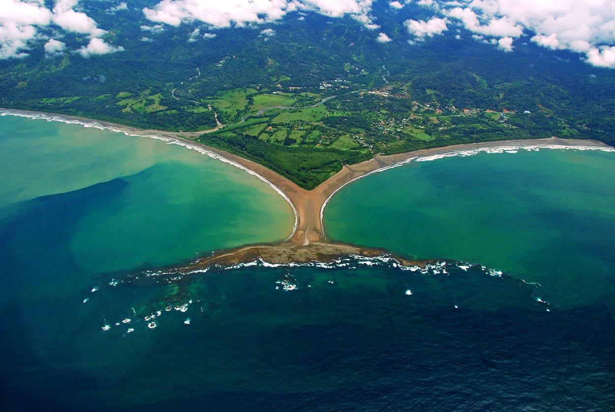 Punta. Ballena, Costa Pacífica, Costa Rica